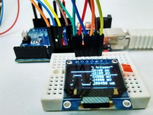 Arduino OLED Oscilloscope 1